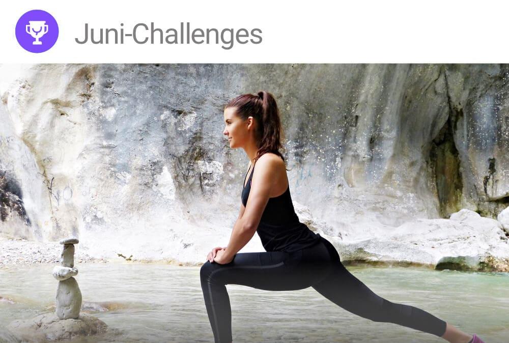 Juni Challenges der YAS-App