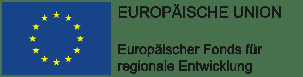 Logo EU: Europäischer Fonds für regionale Entwicklung