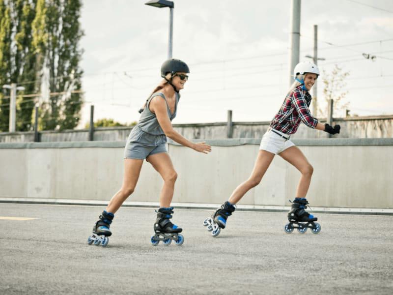 YAS Challenge: K2 Skates Fit auf Rollen
