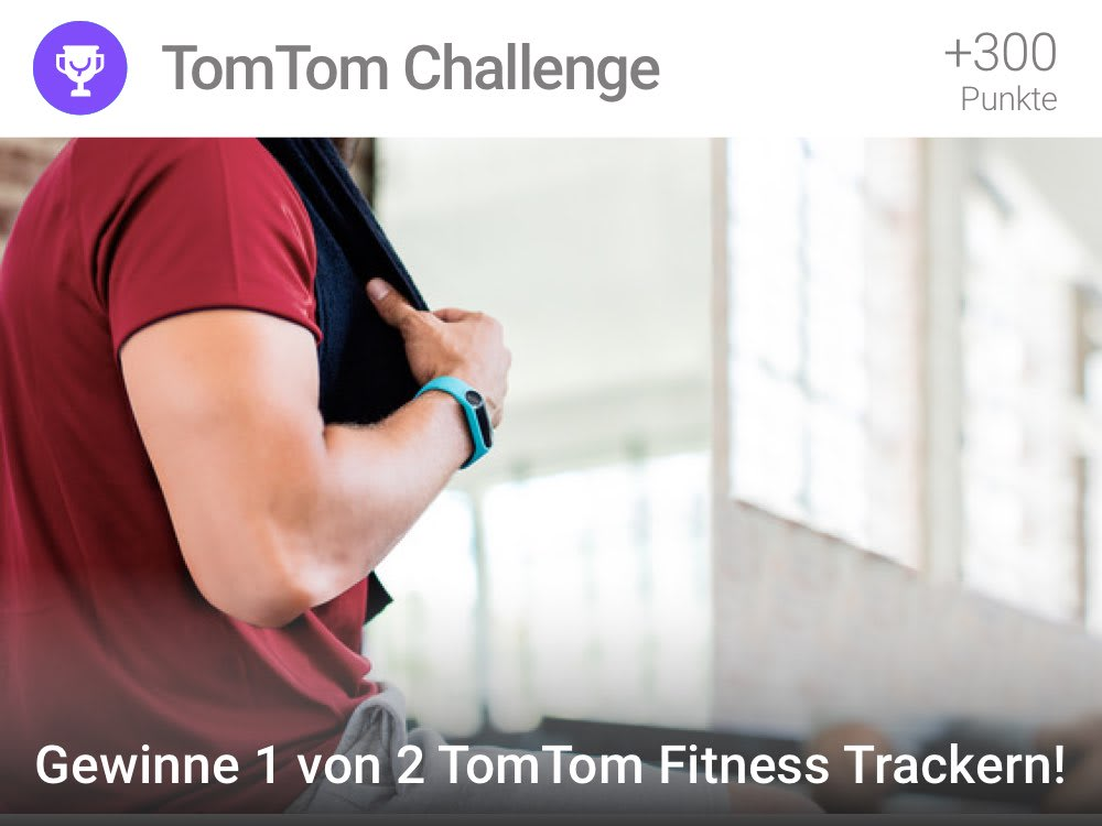 Du erhälst 100 YAS Punkte, wenn Du es schaffst bei der Läufer-Challenge drei Tage lang 9.000 Schritte pro Tag laufen.