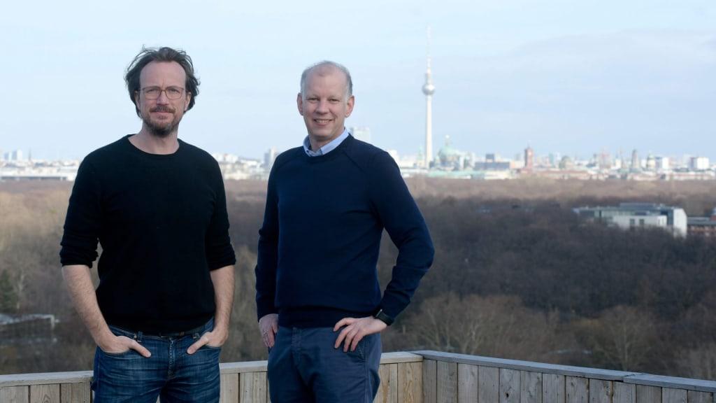 Magnus Kobel und Christian Macht in Berlin