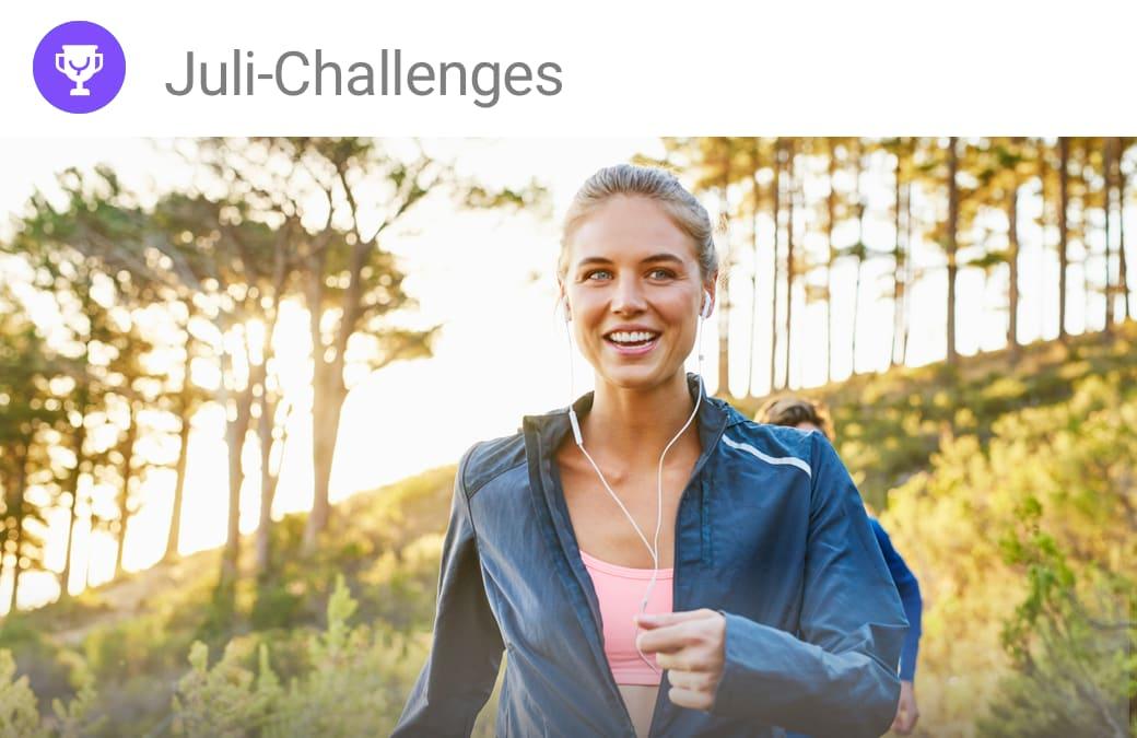 Juli-Challenges