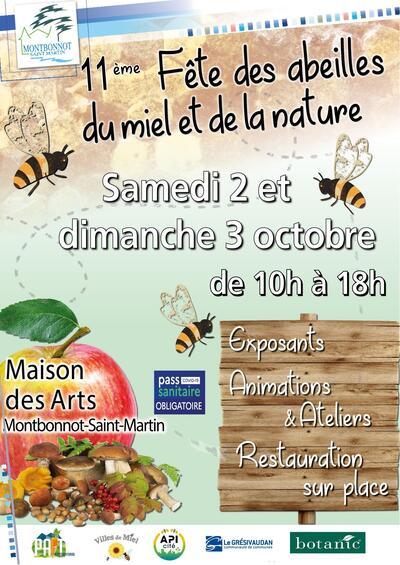 11ème Fête des abeilles, du miel et de la nature