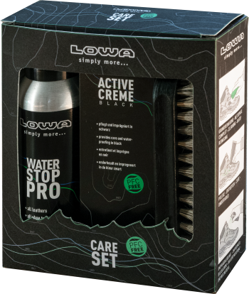 LOWA Care Set black