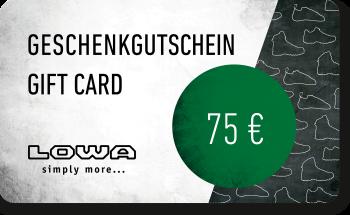 LOWA Geschenkkarte 75