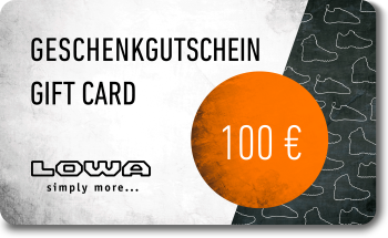 LOWA Geschenkkarte 100