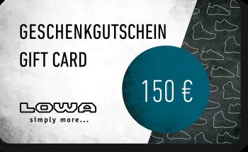 LOWA Geschenkkarte 150