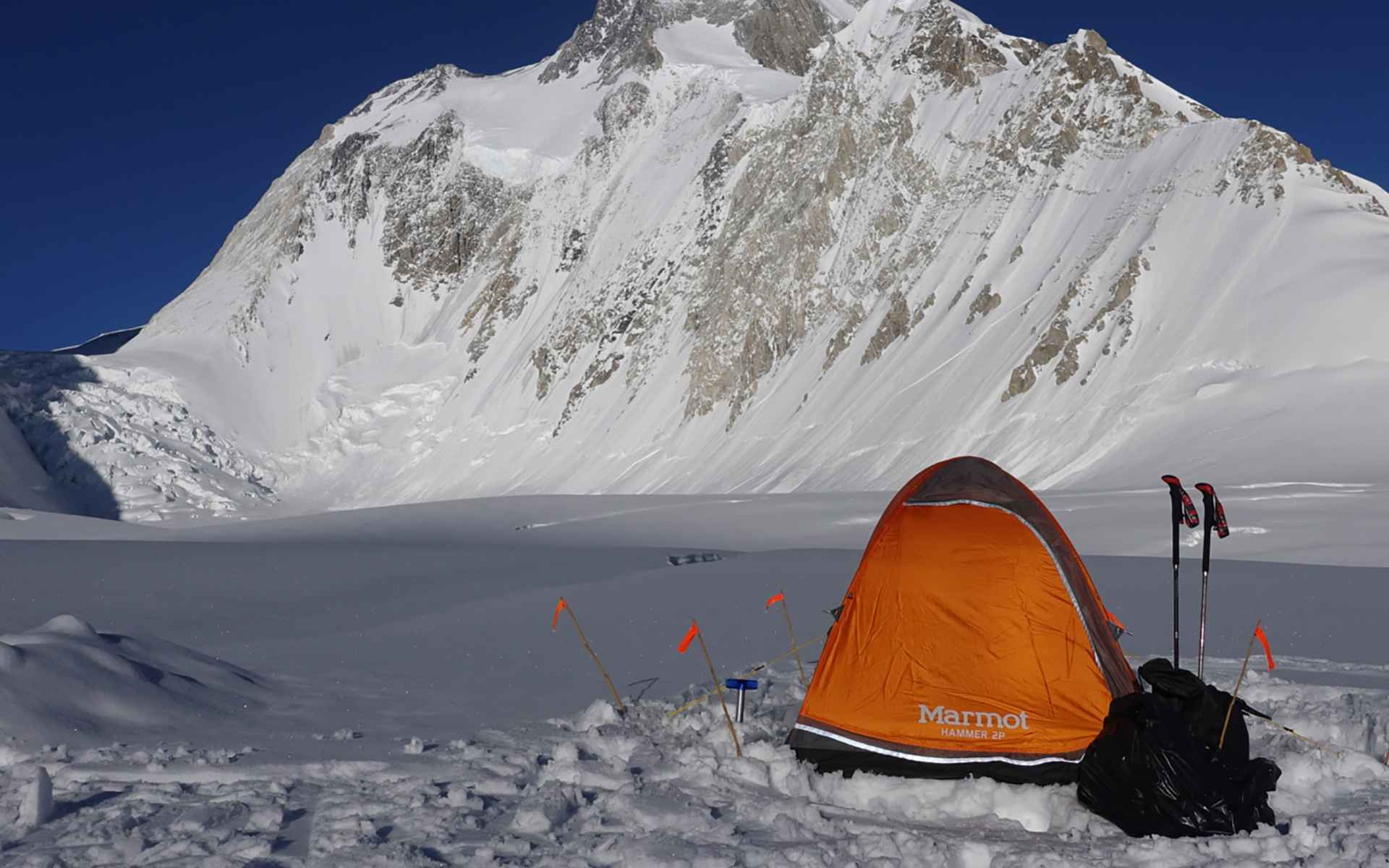 Hoogtekamp op de Gasherbrum I
