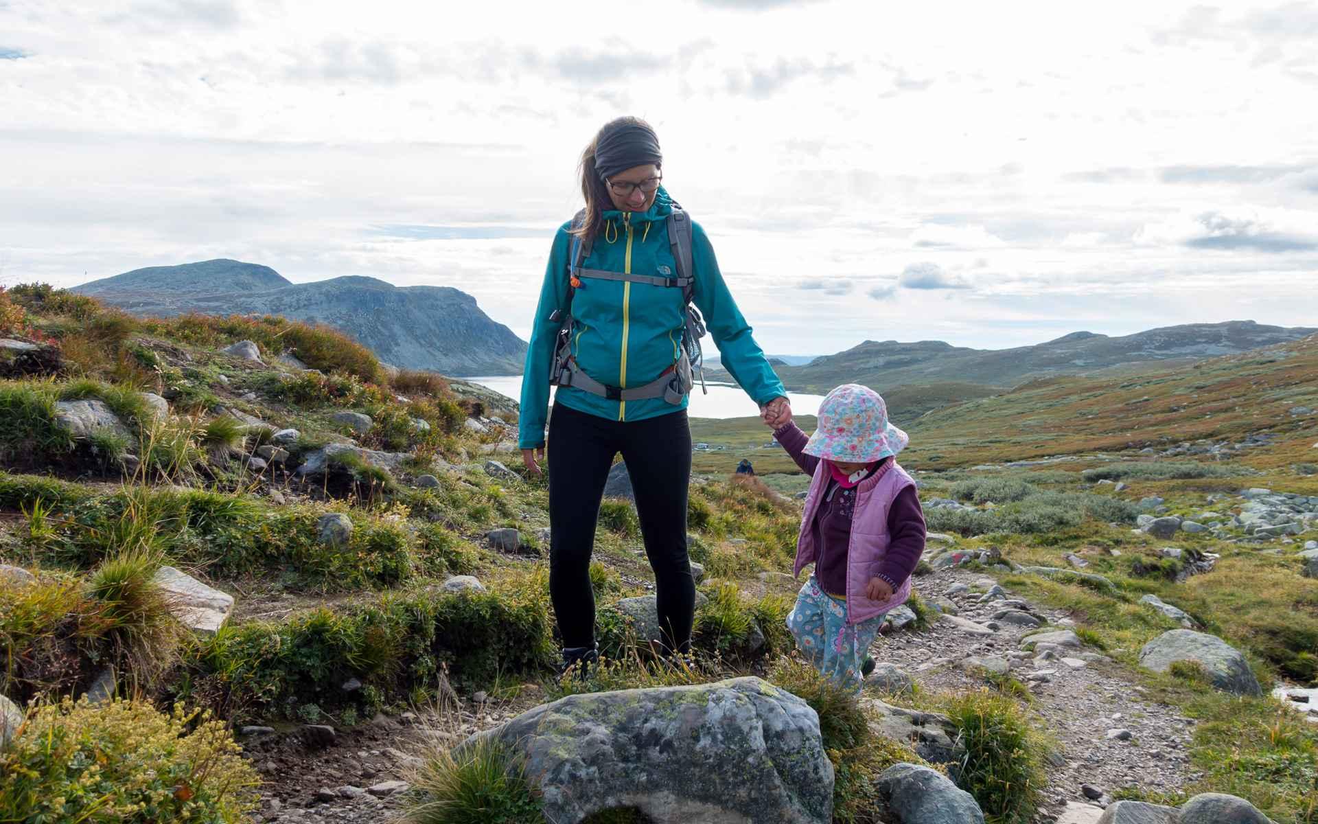 « Notre chemin nous mène au cœur de la nature, mais pas forcément en haut d'une montagne. Quand on fait de la randonnée avec des enfants, l'itinéraire emprunté représente déjà un objectif. »