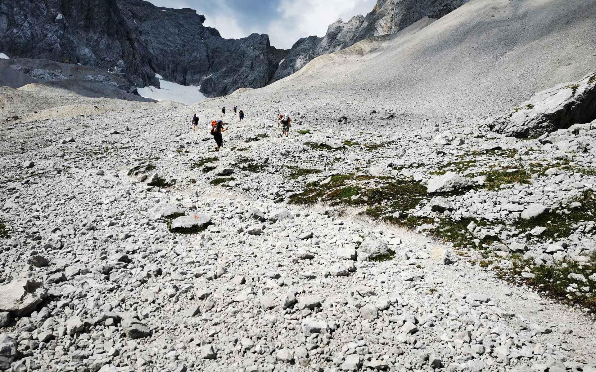 Deutschland Alpen Zugspitze