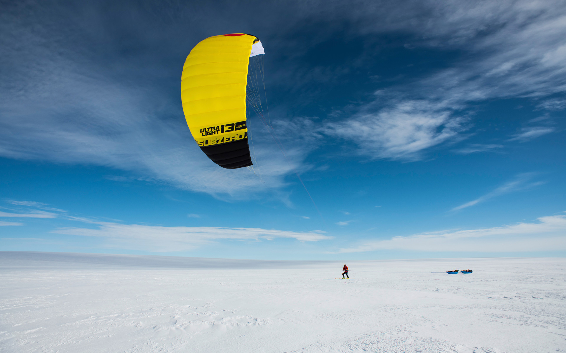 The expedition would have hardly been possible without kites.