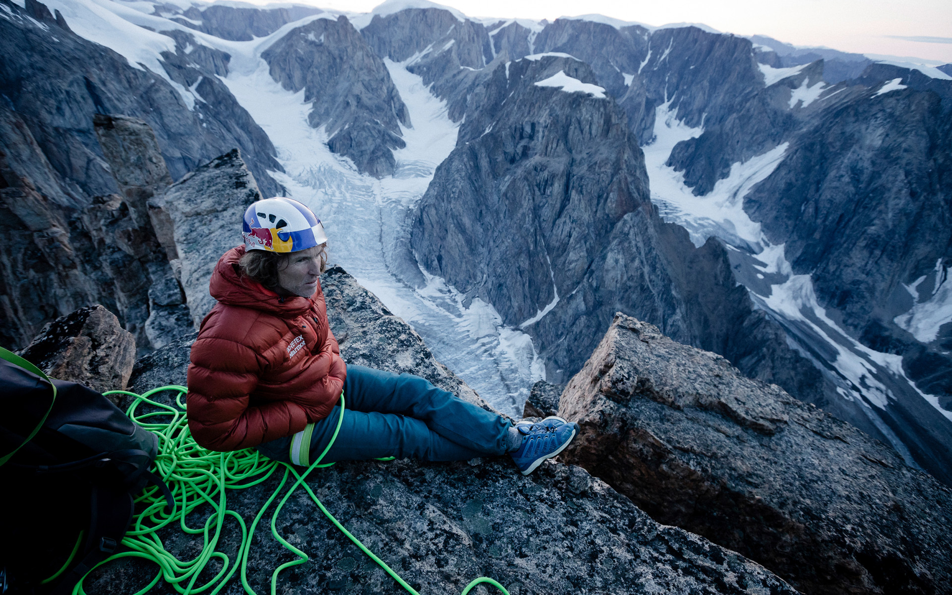 A big wall ascent in Greenland was missing.