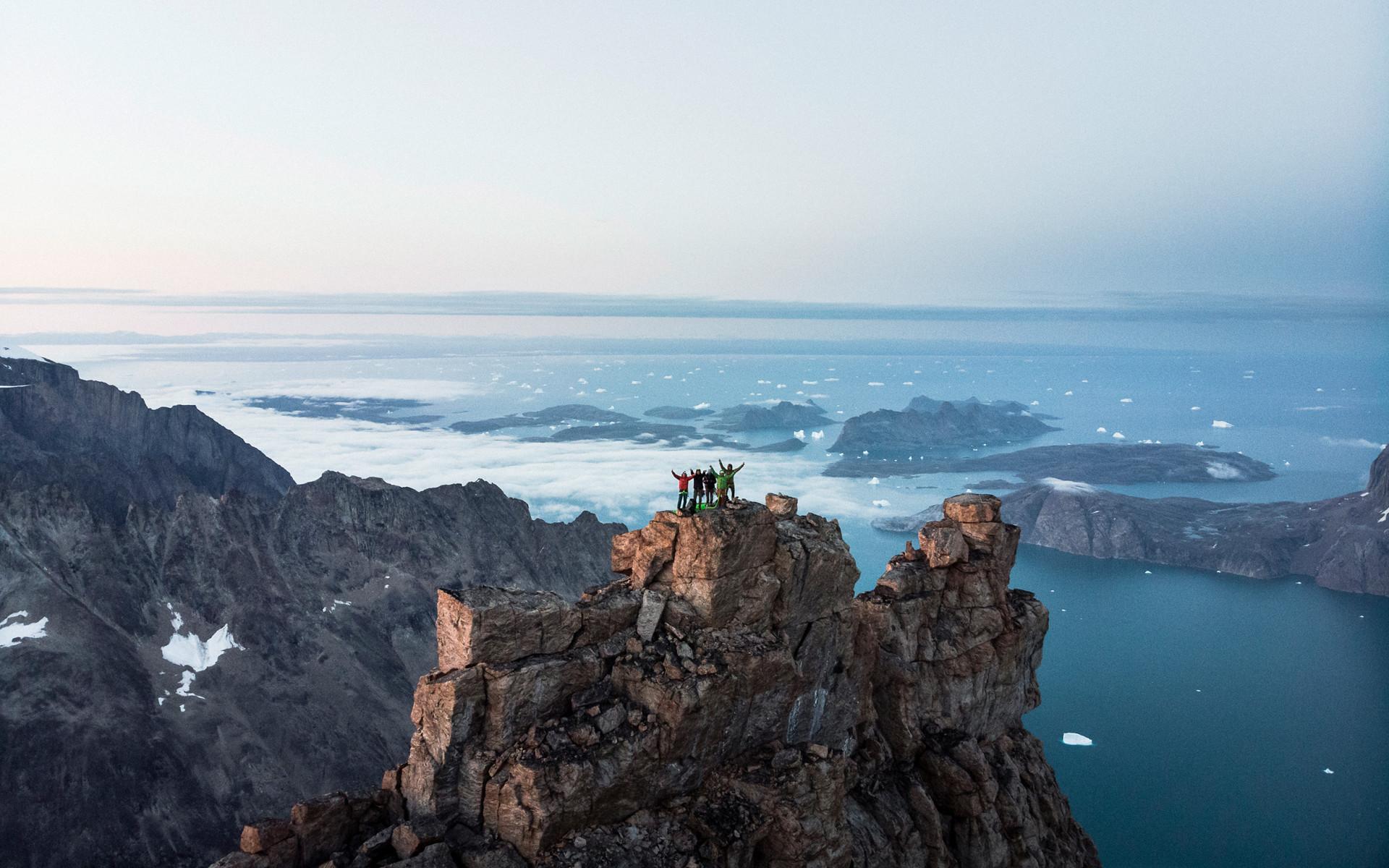 Pour Stefan Glowacz, l'aventure groenlandaise peut prendre fin.