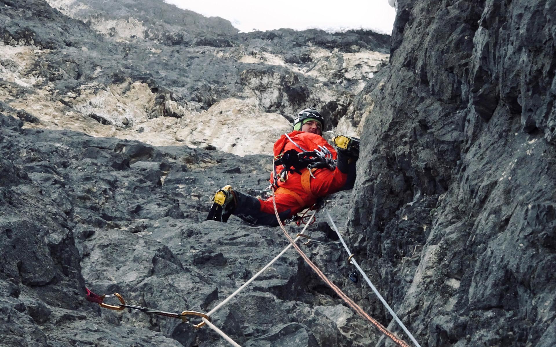 """In sum it was quite an adventurous undertaking in wild, alpine surroundings"", raved Simon Gietl."