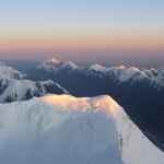 Der Pik Pobeda im Süden und die riesigen Gletscher um uns herum sind atemberaubend.