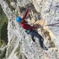 Imagefoto mit dem SPARROW Ws, Klettertour Alix von Melle September 2019