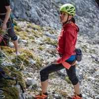 Imagefoto mit dem ALPINE SL GTX, Athletenmeeting 2019 Romina Neumaier