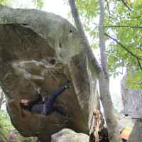 Imagefoto mit dem ROCKET, Fontainebleau Bouldern