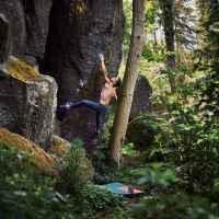 Imagefoto mit dem ROCKET, Bouldershooting Yannick Flohe