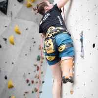 Imagefoto mit dem ROCKET, Kletterbilder Halle Jacqueline Fritz