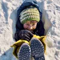 Buried in snow ©Franz Walter