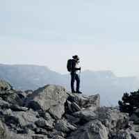 Imagefoto mit dem TICAM II GTX, Image Shooting Gardasee