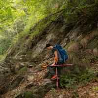 Imagefoto mit dem ALPINE SL GTX, Monte Rosa – Jacqueline Fritz