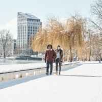 Imagefoto mit dem DUBLIN III GTX, Winter-Image FTNS