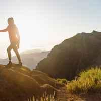Imagefoto mit dem BADIA GTX Ws, ATC + Light TREKKING Madeira