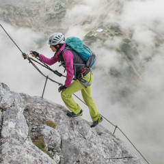 Image photo with the APPROACH PRO GTX LO, 2016_Athlete testing_CoburgerHütte