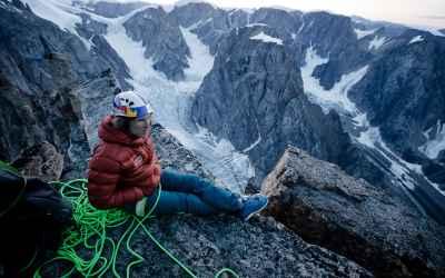 Imagefoto mit dem MADDOX GTX LO, Stefan Glowacz Grönland 2019