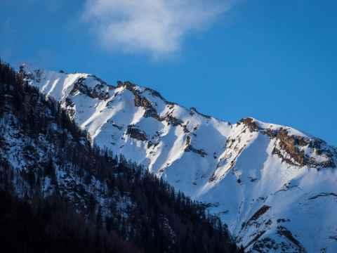 Gerge; Schnee; Himmel