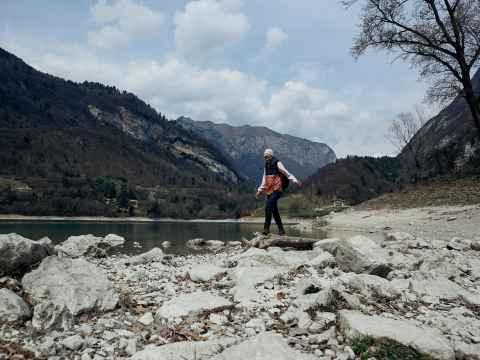 Imagefoto mit dem RENEGADE GTX MID Ws, Image Shooting Gardasee