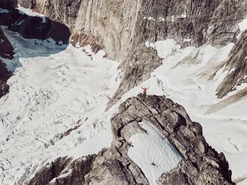 Une expédition en solitaire au Groenland
