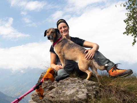 Imagefoto mit dem ALPINE SL GTX, 2019_Jacqueline Fritz - Fotoauswahl Kletterhalle und Wandern