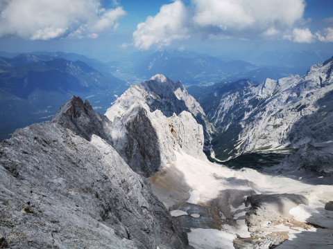 200 years ago was the first ascent of the Zugspitze