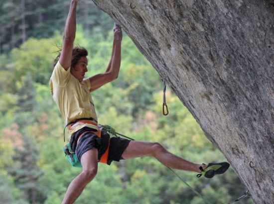 Image photo with the ROCKET, Luis Gerhardt Bouldern Adieu Wolfgang 2017