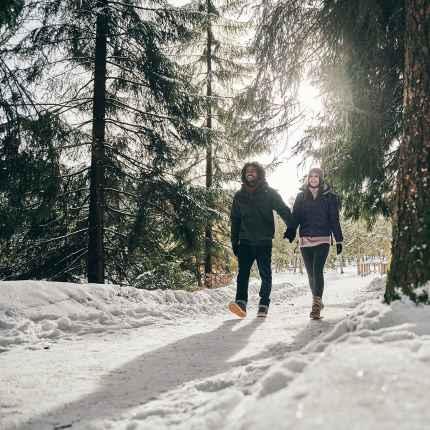 Imagefoto mit dem KAZAN II GTX, Winter-Image FTNS