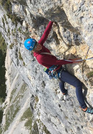 Immagine con SPARROW Ws, Klettertour Alix von Melle September 2019