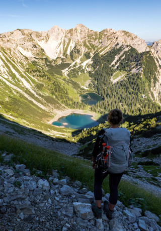 Imagefoto met de INNOX GTX MID Ws, Wandern Ulligunde Zugspitzregion
