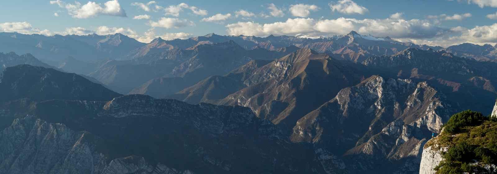 Gardasee, Trentino, Italien.