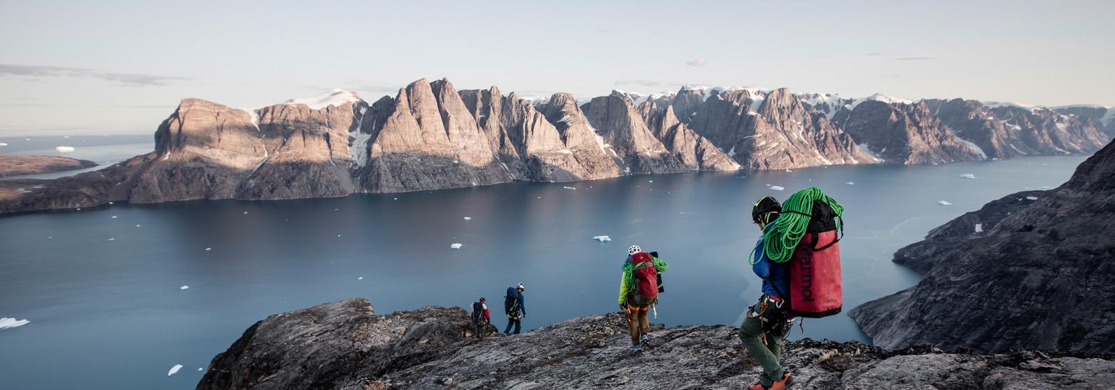 Photo avec la MADDOX GTX LO, Stefan Glowacz Grönland 2019