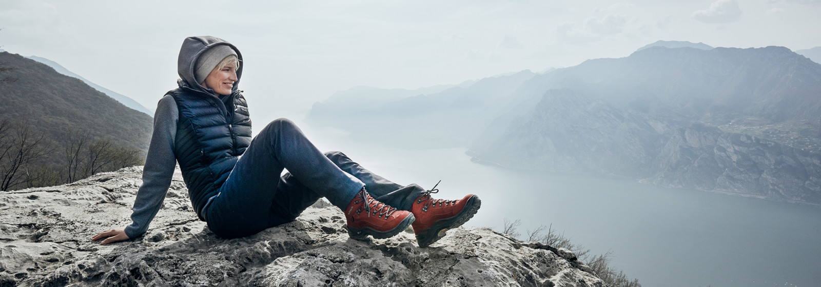 Image photo with the RENEGADE GTX MID Ws, Image Shooting Gardasee