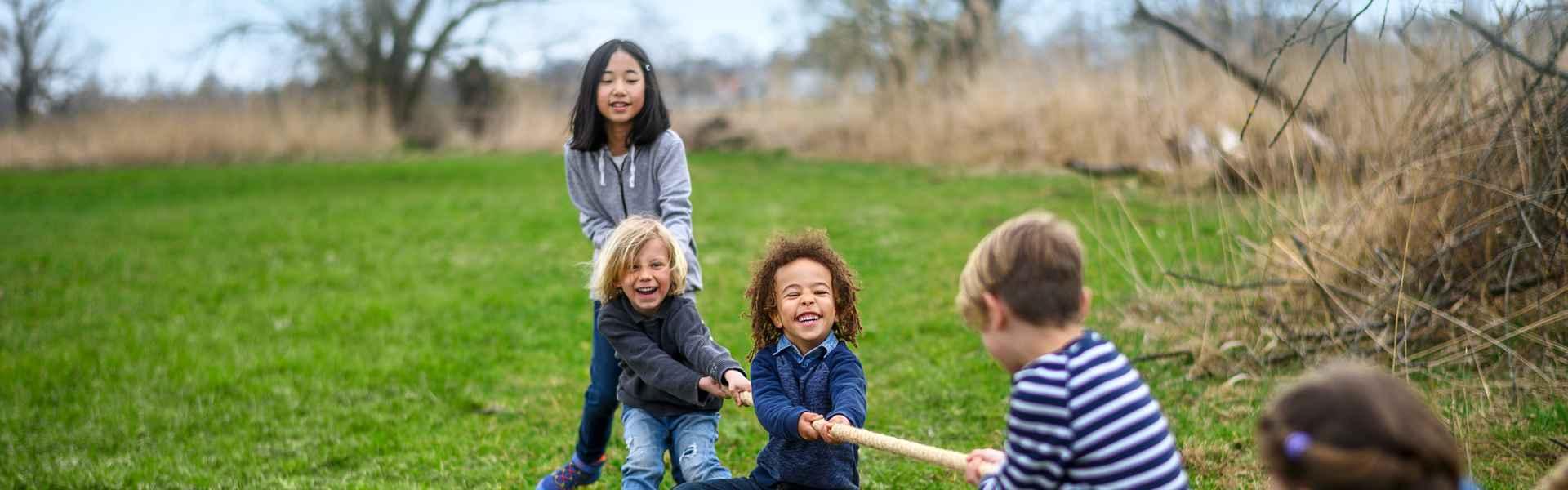 Imagefoto mit dem LEDRO GTX MID JUNIOR, LOWA Kids Kampagne 2019