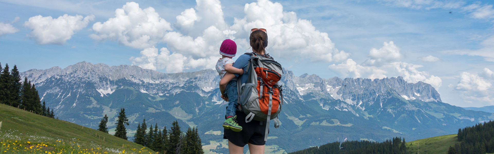 Wandern mit Kleinkind