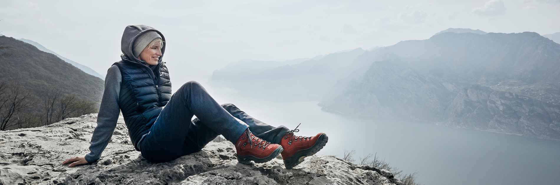 Photo avec la RENEGADE GTX MID Ws, Image Shooting Gardasee
