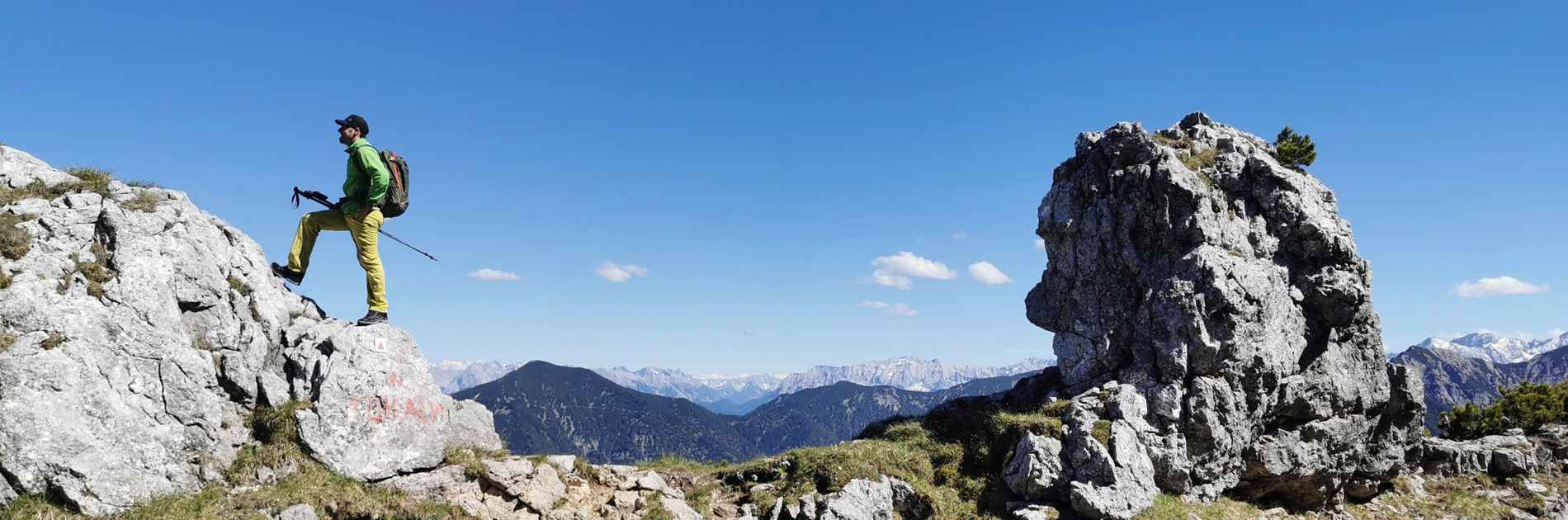 Image photo with the INNOX PRO GTX LO, Ralf Stute Innox Alpen