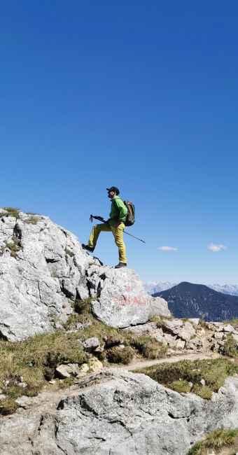 Imagefoto mit dem INNOX PRO GTX LO, Ralf Stute Innox Alpen