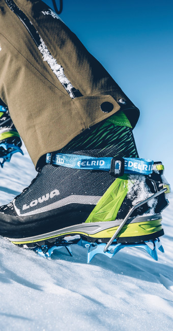 Photo avec la ALPINE ICE GTX, Charmonix 2018