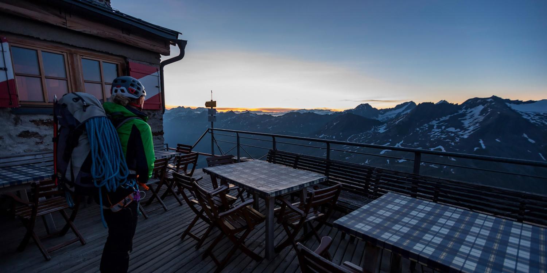Hochtour Hochwilde Klettern Schalfkogel lena obergurgl